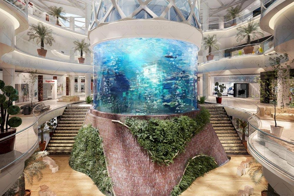 Cylinder-Aquarium-Design-by-USA-for-China_